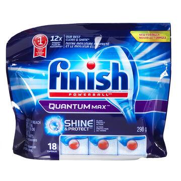 Finish Quantum Dishwasher Detergent - 18's