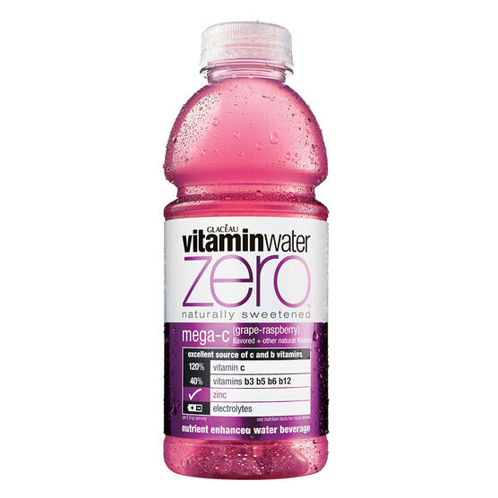 Glaceau Vitamin Water Mega C - Assorted - 591ml