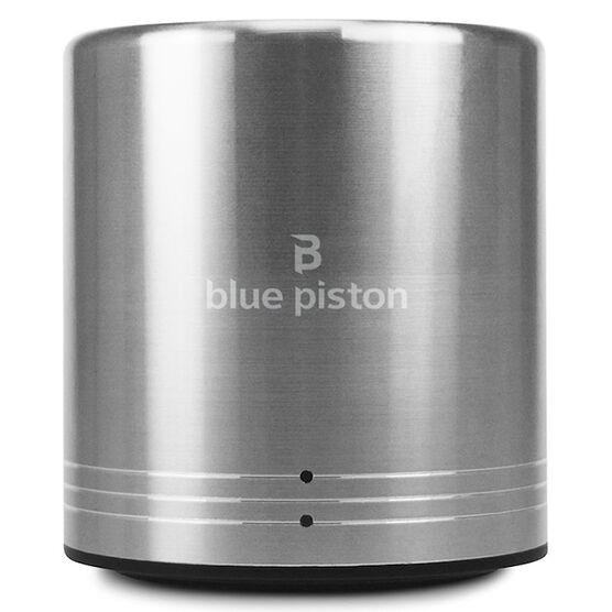 Logiix Blue Piston 360 Bluetooth Speaker - Silver - LGX11773