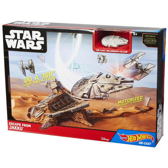 Hot Wheels Star Wars Starship - Escape from Jakku