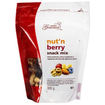 London Gourmet Snack Mix - Nut'N Berry - 300g