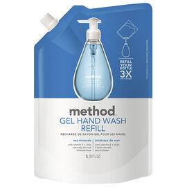 Method Gel Hand Wash Refill - Sea Minerals - 1L