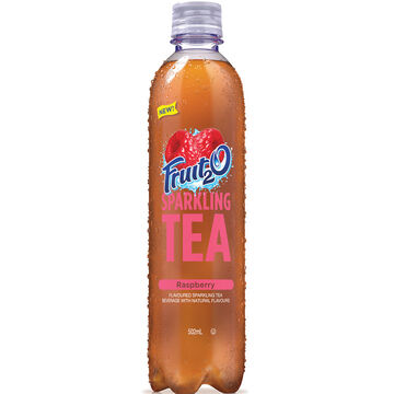 Fruit 2 0 Sparkling Tea - Raspberry - 502ml