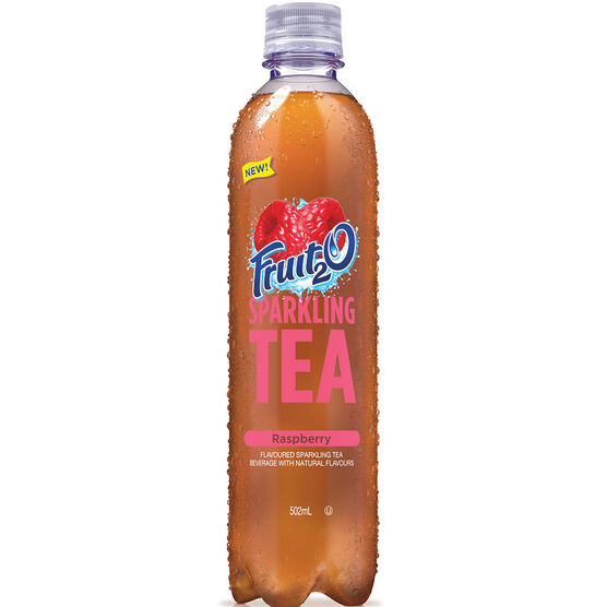 Fruit 2 0 Sparkling Tea - Raspberry - 502ml