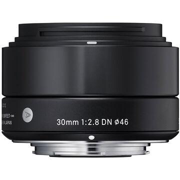 Sigma Art 30mm F2.8 DN Black Lens for Sony NEX - A30DNBKSE