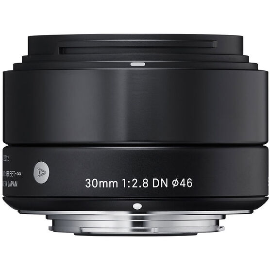 Sigma Art 30mm F2.8 DN Black Lens for Sony NEX - A30DNBKSE