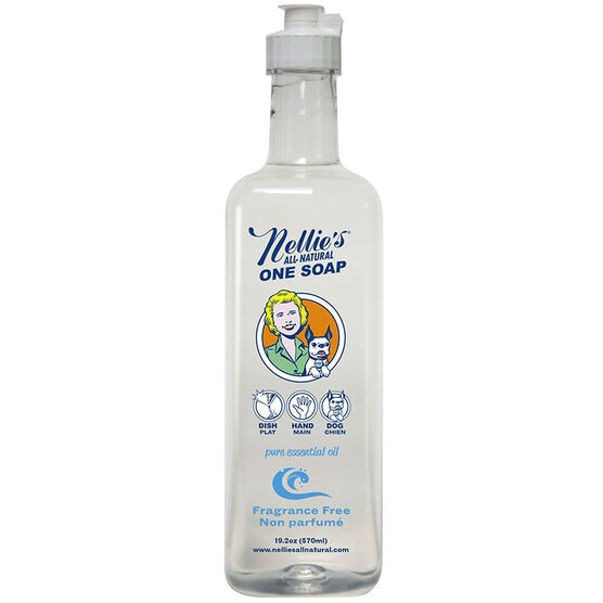 Nellie's One Soap - Fragrance Free - 570ml