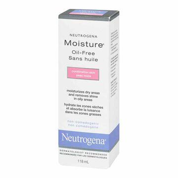 Neutrogena Moisture Oil-Free for Combination Skin - 118ml