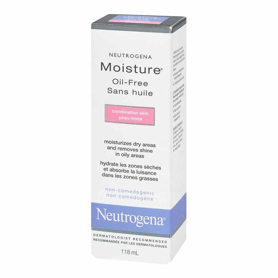 Neutrogena Moisture Oil-Free for Combination Skin - 118ml