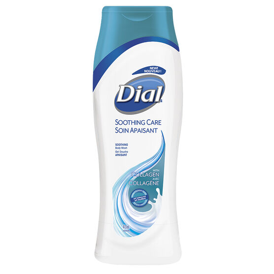Dial Soothing Care Body Wash with Collagen - 473ml