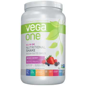 Vega One All-In-One Nutritional Shake - Mixed Berry - 850g