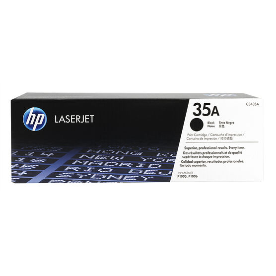 HP LaserJet Black Print Cartridge - CB435A