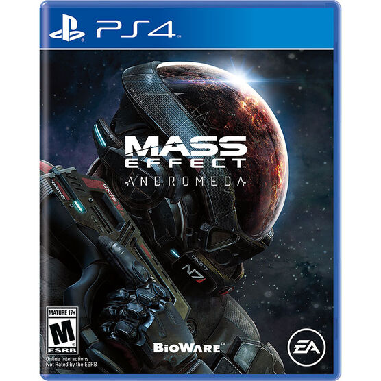 PRE-ORDER: PS4 Mass Effect Andromeda