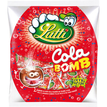 Lutti Cola Bomb Candy - 100g