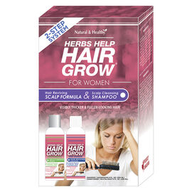 Herbs Help Hair Grow for Women 2-Step System - 2 x 250ml