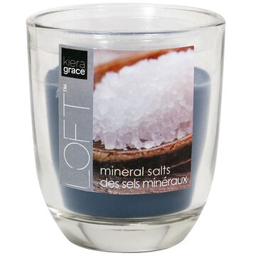 Kiera Grace Loft Glass Jar Candle - Mineral - 3.9oz