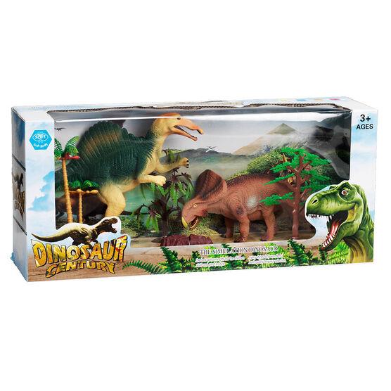 Dinosaur Century Set of 2 - Spinosaurus/Protoceratops