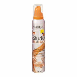L'Oreal Studio Line Silk & Gloss Curling Mousse - 200ml