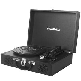 Sylvania Portable USB Turntable - Black - STT102USB