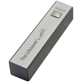 MIO The Lifesaver Battery Pack - Silver -  LS300