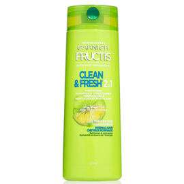 Garnier Fructis Clean & Fresh 2in1 Shampoo & Conditioner - 370ml