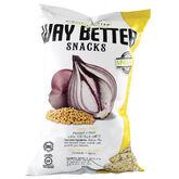 Way Better Snacks - Mustard and Onion - 156g