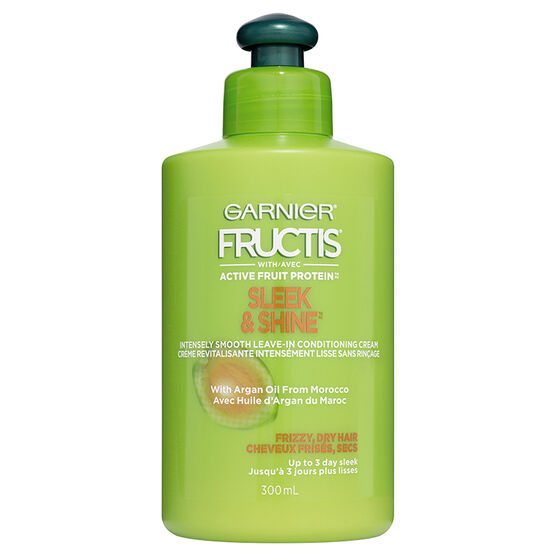 Garnier Fructis Sleek & Shine Leave-in Conditioning Cream - 300ml ...