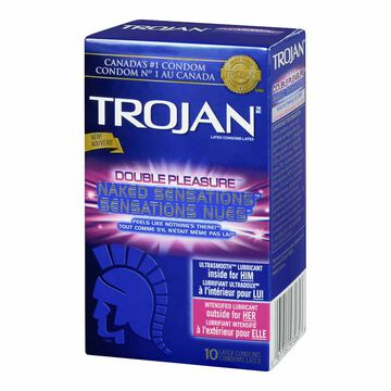 Trojan Double Pleasure Condoms - 10's