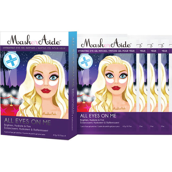 MaskerAide All Eyes On Me Hydrating Eye Gels - 4 pairs