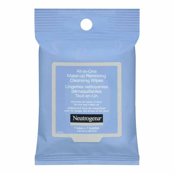 Neutrogena All-in-One Make-up Removing Cleansing Wipes - 7's