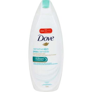 Dove Sensitive Skin Unscented Body Wash - 710ml