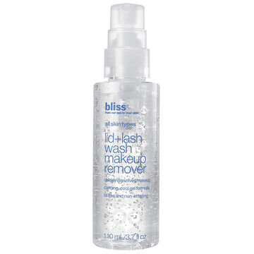 Bliss Lid+Lash Wash Makeup Remover - 110ml