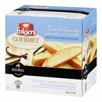 K-Cup Folgers Coffee Pods - Vanilla Biscotti - 18's