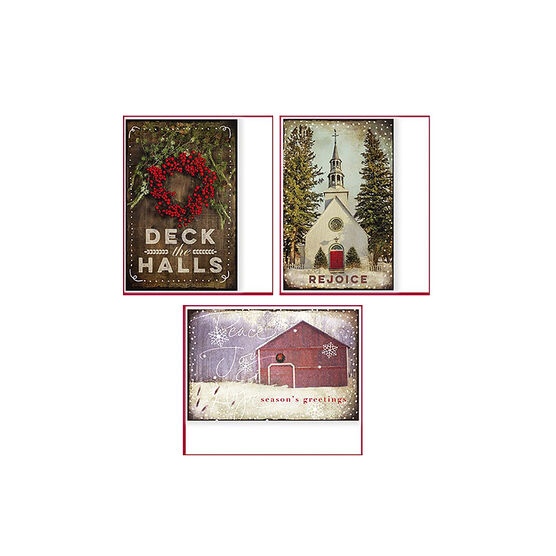 American Greetings Premium Christmas Cards - New Photo - 14 count - Assorted