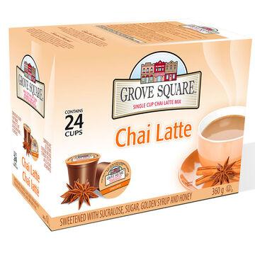 Grove Square Single Cup Coffee - Chai Latte - 24's