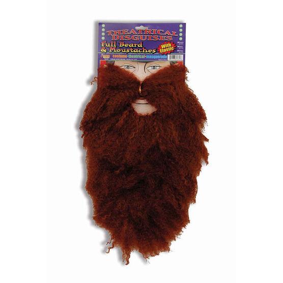 Halloween Beard and Moustache
