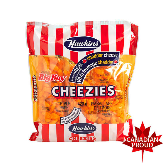 Hawkins Cheezies - 420g