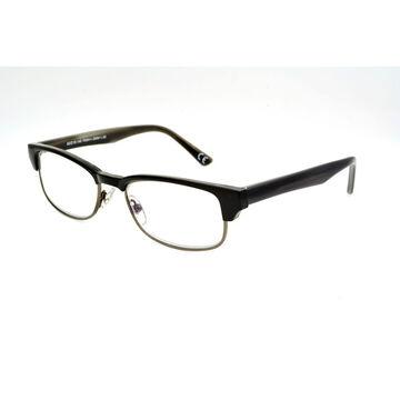 Foster Grant Cartwright Reading Glasses - Black/Chrome - 2.00
