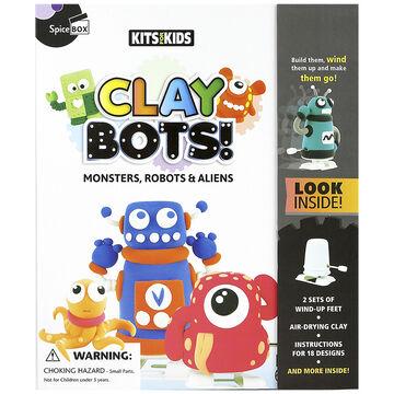 Spicebox Kits 4 Kids - Clay Bots