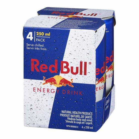 Red Bull Energy Drink - 4x250ml