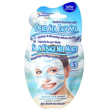 Montagne Jeunesse Dead Sea Face Spa Fabric Facial