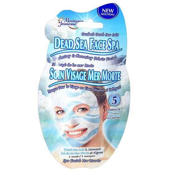Montagne Jeunesse Dead Sea Face Spa Fabric Facial