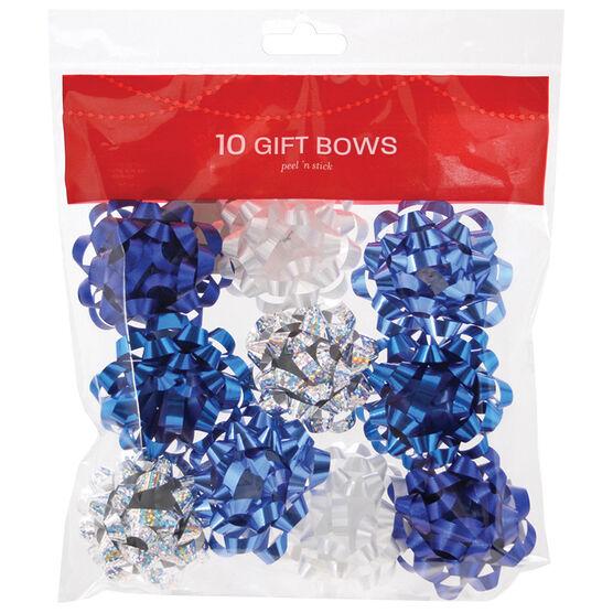 Christmas Mini Galaxy Bows - 10 pieces