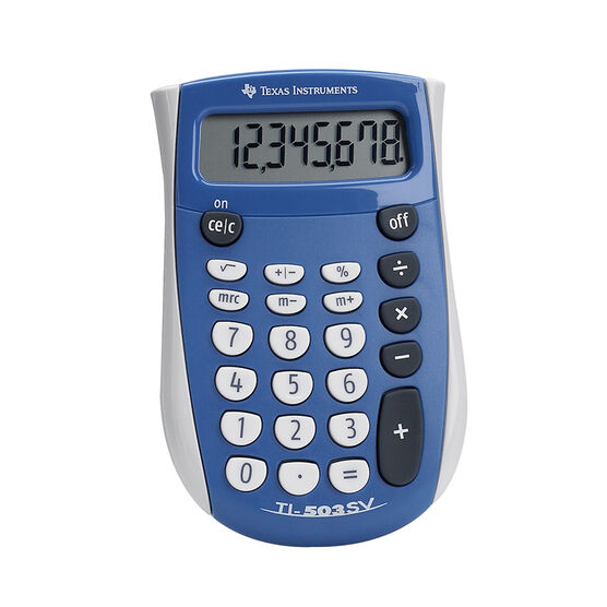 Texas Instruments Basic Calculator Ti503sv London Drugs