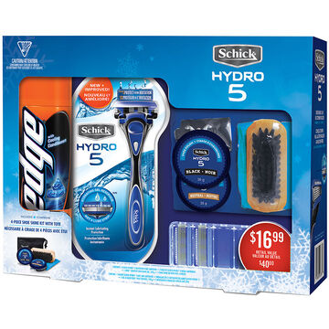 Schick Hydro 5 Holiday Pack