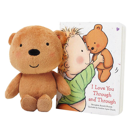 I Love You Through and Through with Plush Teddy