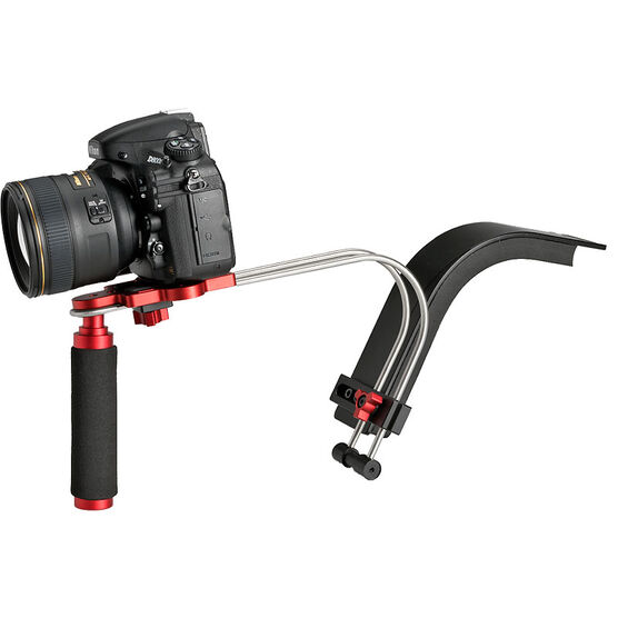 CXS-1 HD Video Shoulder Rig - Black/Red - CXS-1