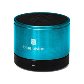 Logiix Blue Piston Bluetooth Speaker - Turquoise - LGX10612