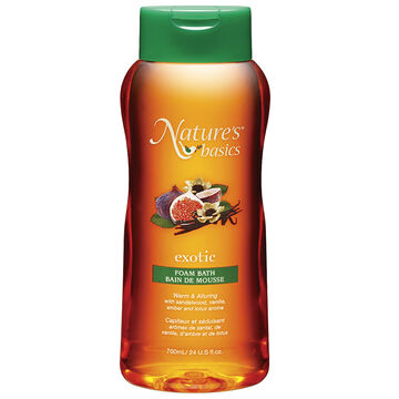 Nature's Basics Foam Bath - Exotic - 700ml