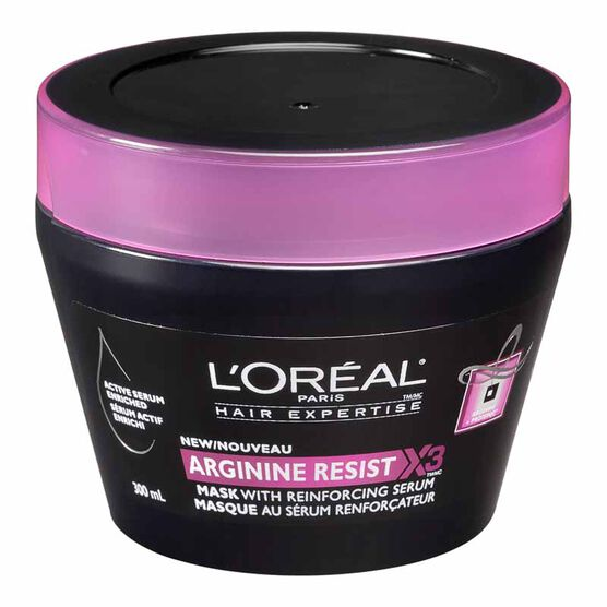 L'Oreal Arginine Resist X3 Mask with Reinforcing Serum - 300ml